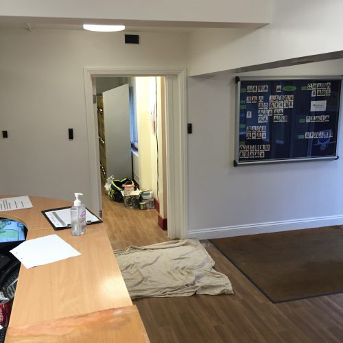 doctors surgery painting and decorating hampshire