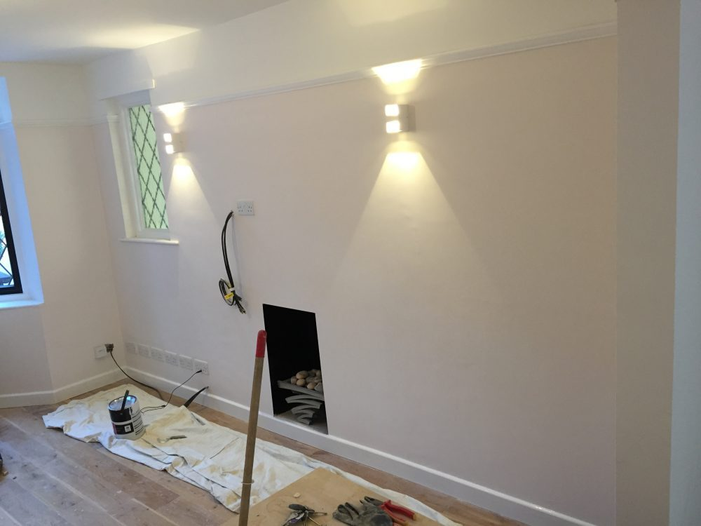 dry lining wall
