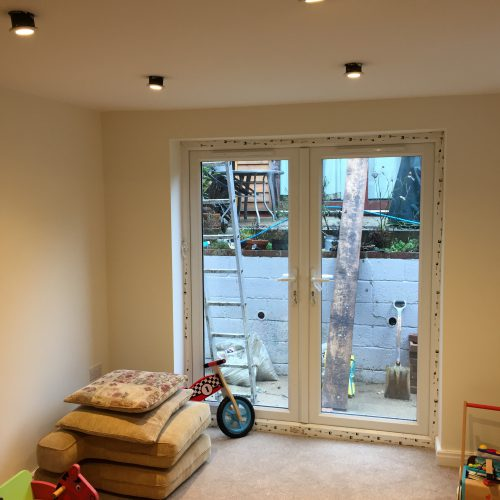 Playroom, redecoration haslemere